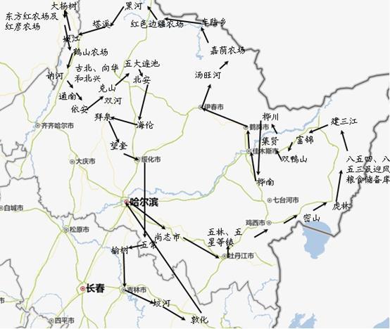 按照资讯网站对大豆产量预估的数据,黑龙江省地级市大豆产量由高到底排列顺序为:齐齐哈尔、黑河、牡丹江、佳木斯、哈尔滨、绥化、大兴安岭地区、伊春市、鸡西市等。从考察情况,黑龙江大豆主产区黑河与齐齐哈尔的大豆种植面积下降明显。根据调研数据,黑河地区大豆面积下降比例20%-60%左右,去年黑河是涝灾减产年份,今年大豆单产相较去年增幅较大。齐齐哈尔地区种植面积下降10-30%左右,单产较去年略降。牡丹江市今年的种植面积与单产较去年都变化不大,总产量与去年相近。佳木斯市与绥化市种植面积较去年都下降20%-30%,